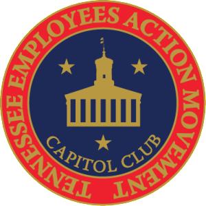 TEAM Capitol Club Pin