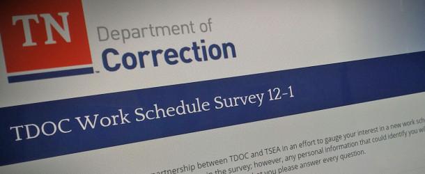 TDOC work schedule survey underway