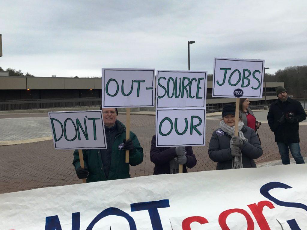 Fall Creek Falls Protest