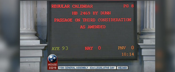 Bill to provide employees with evidence prior to disciplinary hearings passes House