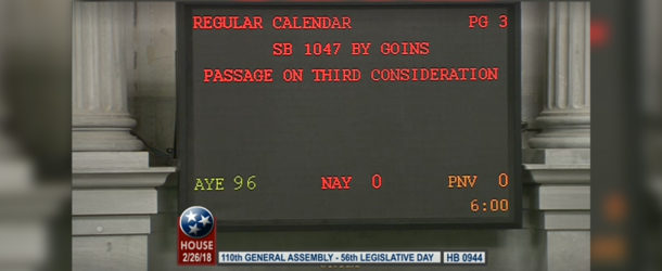 House passes Contract Accountability bill with unanimous vote