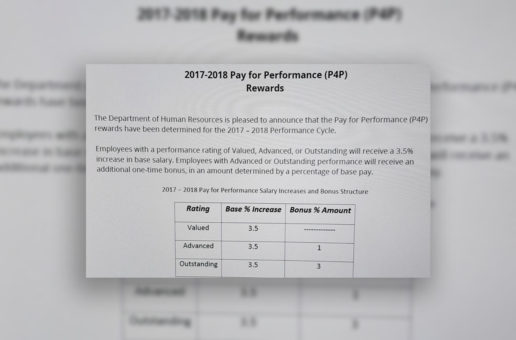 Pay For Performance Rewards Announced